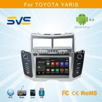 China Android 4.4 car dvd player GPS navigation for Toyota Yaris 2005-2011 car stereo quad core on sale