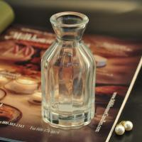 Quality Diffuser Glass Perfume Bottles / Clear Glass Reed Diffuser Bottle wholesale