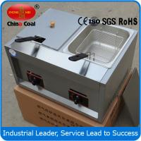 China french fries machine price double cylinder fries machine on sale