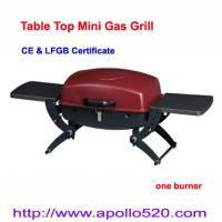 Quality Table Top Gas Barbeque Grills single burner wholesale