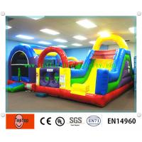 Quality 12.Big Fun Playground Inflatable Dry Slides For Amusement Park Rental Business wholesale