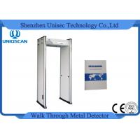 Quality Multi zones Alarm Walk Through Metal Detector For Buidling Entrance Security wholesale