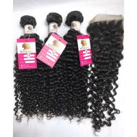 China 100% Brazilian Virgin Hair Natural Unprocessed Virgin Hair Natural Curly Hair Weave on sale