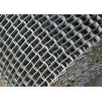 Quality Honeycomb Wire Mesh Conveyor Belt , Metal Mesh Belt With Clinched Edge wholesale
