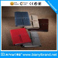 China Professional Factory Leather Composition Notebook Cover With Loose Leaf on sale