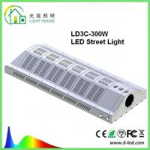 Quality Cree Rotating Street LED Lights WF2 , 300 W Power Led Street Lamps AC85-277v wholesale