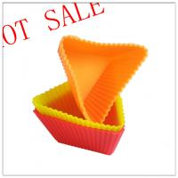 Quality Multi-functional Customized Silicone Cake Molds , Silicone Baking Cups wholesale