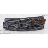 Buy cheap Classic Mixed Colors Stretch Belts For Mens Matt Gun Metal Pin Buckle from wholesalers