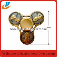 China Dollar coins one cent icon head hand Fidget Spinner Gadgets toys 2017 one Anti-Stress on sale