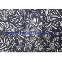 Quality Interweave Linen Cotton Poplin Beachwear with all over Reactive Printing 21*14 wholesale