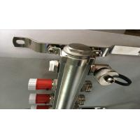Quality Quality Classical Floor Heating System Brass Pex Manifold With Short Flow Meter wholesale