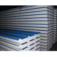 Quality EPS Foam Thermal Insulated Sandwich Panel Lightweight 0.3 - 0.8mm Steel Thickness wholesale