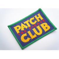 Quality Handmade Custom Clothing Patches Embroidered Brand Logo Patch wholesale