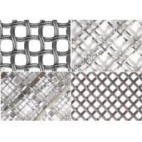 Quality 2mm Diameter Decorative Wire Mesh / Screen Metal Mesh For Home 200 Mesh wholesale