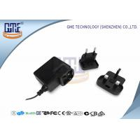 Quality Glucose Meter AC DC Switching Power Supply Black 0.3A - 2.1A Current wholesale