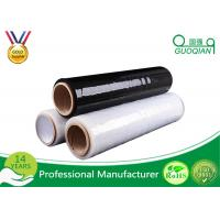 Quality Custom Stretch Black Pallet Wrap Film 1-100mic Thickness For Food / Glass Package wholesale
