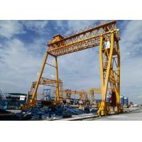 China Double Girder Gantry Crane for Precast beam field DCS10t-20m-16m with 10t Nante Winch(sew motor) on sale