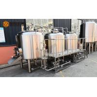 Buy cheap Microbrewery 500l Beer Brewing Equipment Plc Control With 2 Vessels Brewhouse from wholesalers