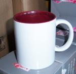 7102 white inside colors ceramic mug 11OZ sublimation mug custom your LOGO
