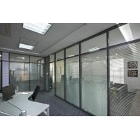 Buy cheap Soundproof Aluminum Glass Office Partitions Fire Prevention 2.5mm Wall Thickness from wholesalers