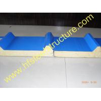 Quality Heat Insulation Warehouse Metal Roofing Sheets Polyurethane Sandwich Panel wholesale
