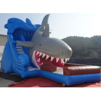China Shark Inflatable slide with warranty 24months for commercial use on sale