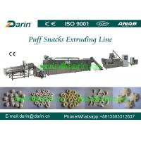 Quality Double screw extruder cereal grain puffing machine with high stable per - formation wholesale