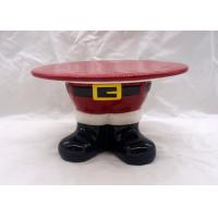 Quality Santa Feet Shoes Christmas Cake Stand For Holiday Christmas Decoration wholesale