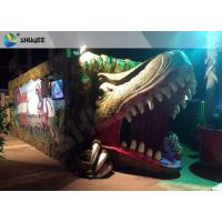 Quality Electric Dynamic 7D Cinema System Dinosaur House In Entertainment Places wholesale