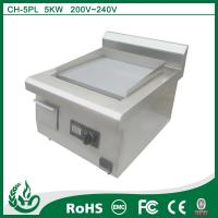 Quality home appliance Induction Cooking Fast Food Chain Griddle wholesale
