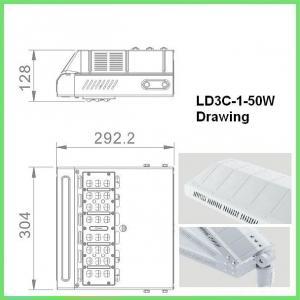 Quality High Lumen COB SMD 50w Energy Efficient Street Lighting Die Cast Aluminum wholesale