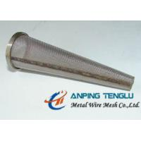 Cheap Stainless Steel Conical Strainers/Mesh Filter With Flat/Sharp Bottom for sale