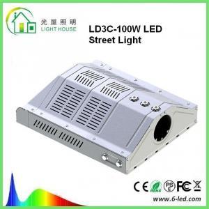 Quality Outdoor Led Street Light 100w Parking Lot Lighting 85-265v Warm White 3000-3500k wholesale