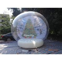 China 0.6mm PVC Tarpaulin Inflatable Christmas Decorations Advertising Use on sale