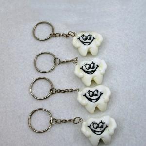 Quality Teeth Key Chain,Dental Clinic Gift,Dental promotio gift,Dental Hygiene wholesale