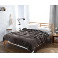 Quality Lightweight Mesh Plush Embossed Flannel Bedsheet Decorative Waffle Flannel Fleece Blanket Queen Size wholesale