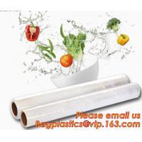 Quality Stretch And Fresh Re-usable Food Wraps Silicone Plastic Stretch Cling Film, Food grade LDPE cling film,LDPE stretch film wholesale