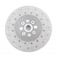 Quality Double Sided Diamond Cutting Blade & Grinding Disc 5/8-11 Flange Diamond Grinding Wheel wholesale