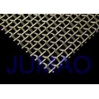 China Interior Flat / Bright Woven Wire Mesh, Security Stainless Steel Wire Mesh on sale