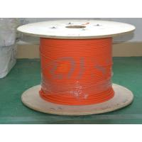 Buy cheap 62.5 / 125um Duplex Flat Fiber Optic Patch Cord , Inflaming Retarding from wholesalers