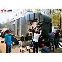 Quality 1T / Hour Wood Fired Steam Boiler Running For Dry Cleaning Machine wholesale