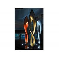 Quality Painted Number Eight Stainless Steel Sculpture for Modern Outdoor Decoration wholesale