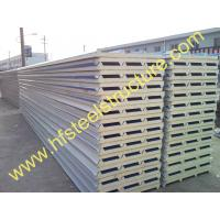 Quality Waterproof Polyurethane Sandwich Panels Metal Roofing Sheets For Prefabricated House wholesale