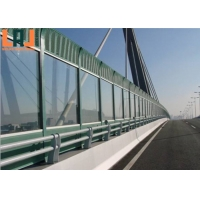 Powder Coated 12mm Thick Sound Barrier Fence Fire Resistant Easy Installation for sale