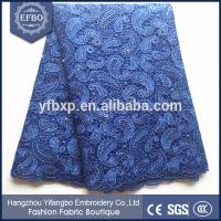 Quality Wedding dress making african lace fabrics tulle wholesale bridal lace fabric with beads wholesale