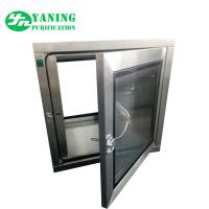 China Mechanical Interlock Static Cleanroom Pass Box AC 220V/50HZ 0.2m-0.60m/s Speed on sale