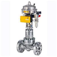 Quality PTFE Soft Seat Material Control Valve Positioner DN 25 - 200 NPS 1 - 8 wholesale