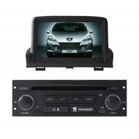 Quality PEUGEOT 307 Car GPS Navigation System With Graphical User Interface wholesale