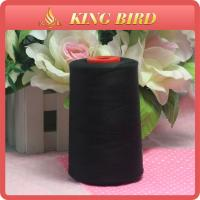 Quality Low Hairiness Black Embroidery Machine Thread 40s / 2 - 6000y wholesale