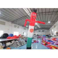 China 10ft Advertising Inflatable Wind Man For Festival Event on sale
